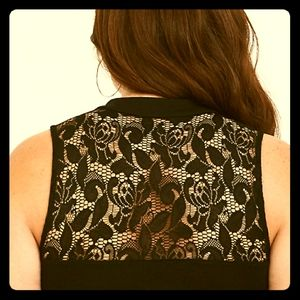 Torrid foxy lace illusion tank